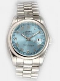 Rolex DATEJUST Azury Dial With Roman Hour Marker