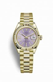 Rolex Datejust 28 279178 Lilac diamonds Watch Replica