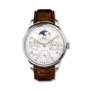 IWC Portugieser Perpetual Calendar Single Moon Stainless Steel/Boutique Shanghai IW503307 Replica