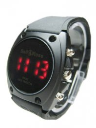 Bell & Ross Arrival Black Bell & Ross BR02 LED Watch