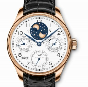 IWC Portugieser Perpetual Calendar Tourbillon Edition 150 Yearswatch IW504501 Replica