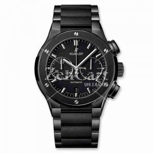 Hublot Classic Fusion Chronograph Black Magic Bracelet 520.CM.1170.CM 45mm Replica