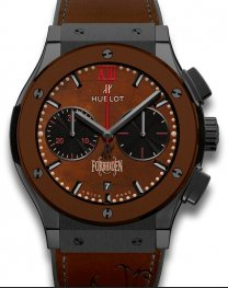 Hublot Classic Fusion Chronograph Black Brown Ceramic 52