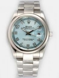Rolex DATEJUST Azury Dial With Arabic Hour Mark