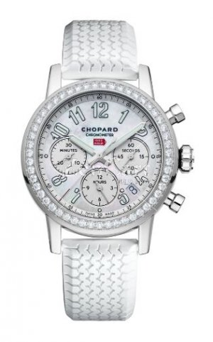 Chopard Mille Miglia Classic Chronograph diamond-set Stainless Steel 178588-3001 Replica Watch