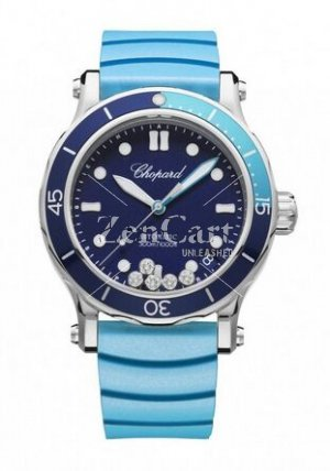 Chopard Happy Ocean Stainless Steel & Diamonds 278587-3001 Ladies Replica Watch