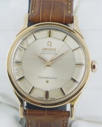 Omega Constellation 18K Rose Gold on a Strap110528/A Wat