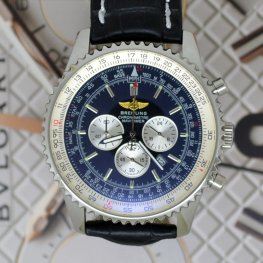Breitling Watches Chronometre Navitimer Blue Face