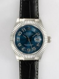 Rolex DATEJUST Cobalt Blue Dial With Arabic Hour