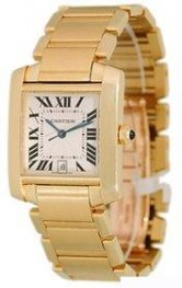 Cartier Tank Francaise Mens Watch W50001R2