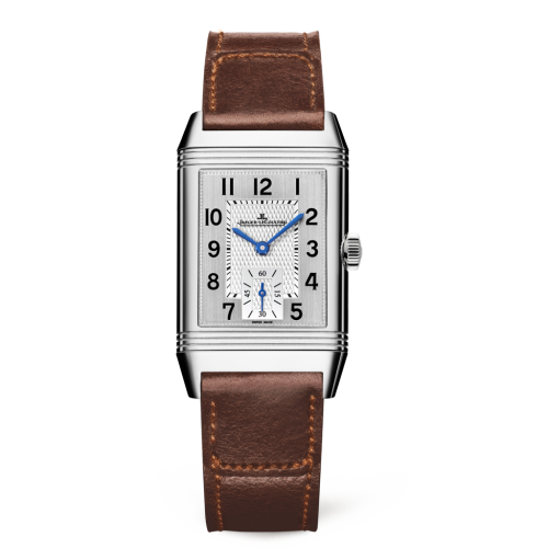 Jaeger-LeCoultre 2438522 Reverso Classic Medium Small Seconds Stainless Steel/Silver/Fagliano Replica