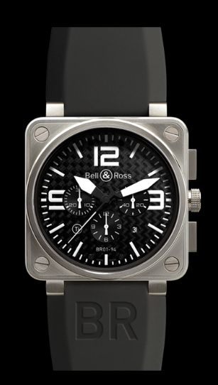 Bell & Ross BR01-94 Chronograph 46mm BR01-94 Titanium Wa