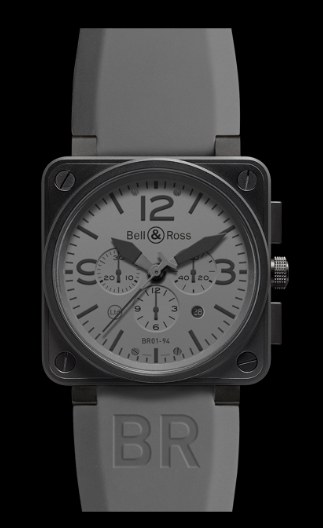 "Bell & Ross BR 01-94 ""Commando"" Chronograph Automatic St"