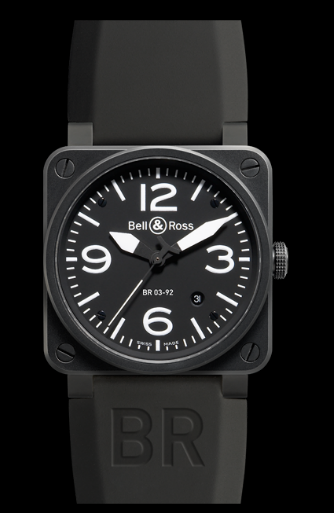 Bell & Ross BR03-92 Automatic 42mm BR03-92 Carbon Watch