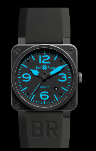 Bell & Ross BR03-92 Automatic 42mm BR03-92 Blue Watch