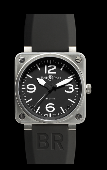 Bell & Ross BR01-92 Automatic 46mm BR01-92 Steel Black W