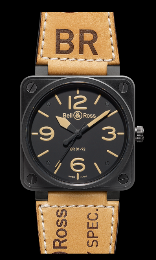 Bell & Ross BR01-92 Automatic 46mm BR01-92 Heritage Watc