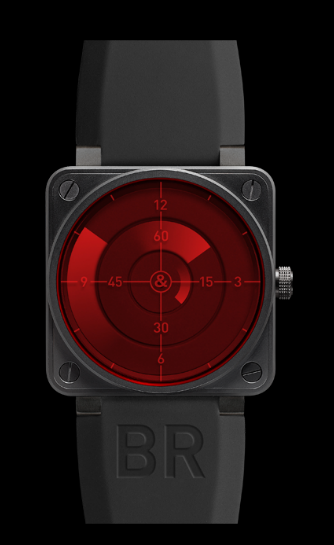 Bell & Ross BR01-92 Automatic 46mm BR01-92 Red Radar Wat