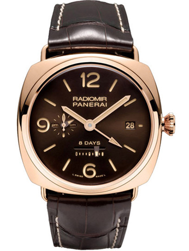 Panerai Special Editions Radiomir 8 Days GMT Oro Rosso M