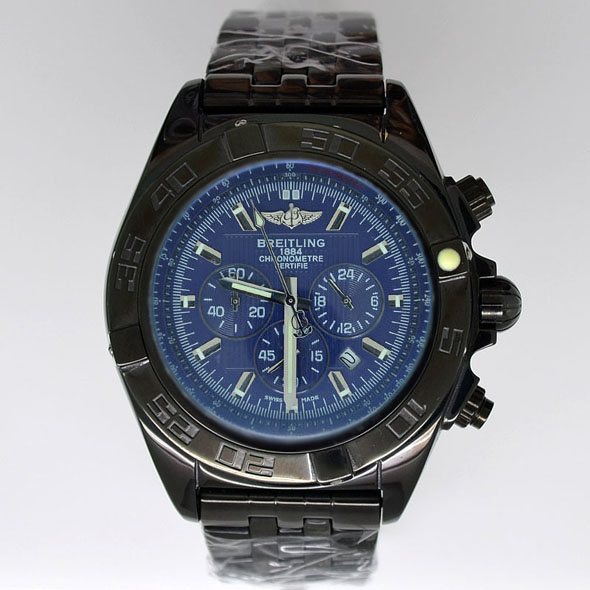Breitling Watches Chronomat B01 Certifie 1884 Black Baze