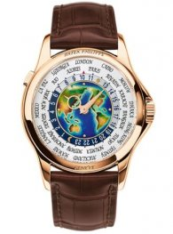 Patek Philippe World Time 5131R-001 Enamel Dial Rose Gol
