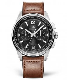Jaeger-LeCoultre 9028471 Polaris Chronograph Stainless Steel/Black/Calf Replica