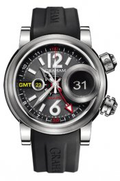 Graham Swordfish Grillo Alarm GMT Mens watch 2SWGS.B23A