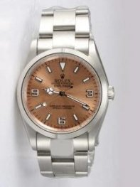 Rolex Anti Gold Dial With Bar Hour Markers Rl859