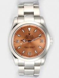Rolex Explorer French Anti Gold Dial With Bar An