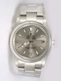 Rolex Explorer French Grey Dial With Bar And Ara