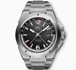 IWC Ingenieur Dual Time Black Dial