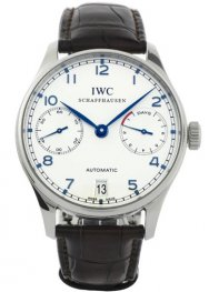 IWC Portuguese Automatic Mens Wristwatch Model IW500107