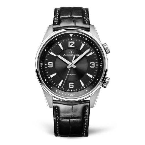 Jaeger-LeCoultre 9008470 Polaris Automatic Stainless Steel/Black/Alligator Replica