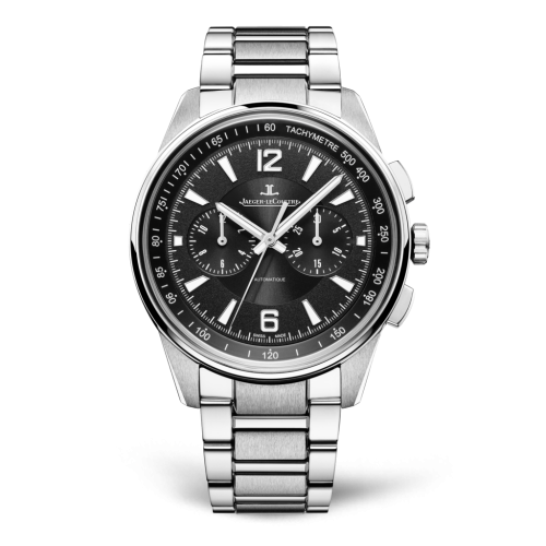 Jaeger-LeCoultre 9028170 Polaris Chronograph Stainless Steel/Black/Bracelet Replica
