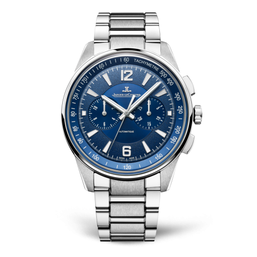 Jaeger-LeCoultre 9028180 Polaris Chronograph Stainless Steel/Blue/Bracelet Replica