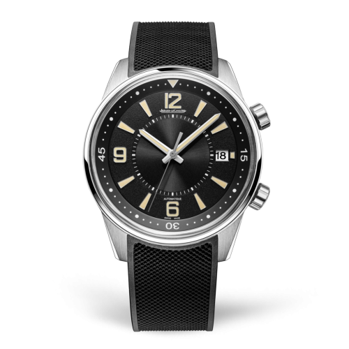 Jaeger-LeCoultre 9068670 Polaris Automatic Stainless Steel/Vintage Black/Rubber Replica